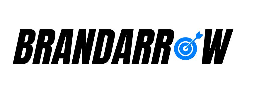 Brandarrow Agency - Logo (Black/Blue)
