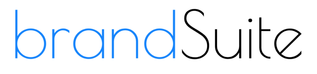brandSuite - Text Logo (Blue/Black)