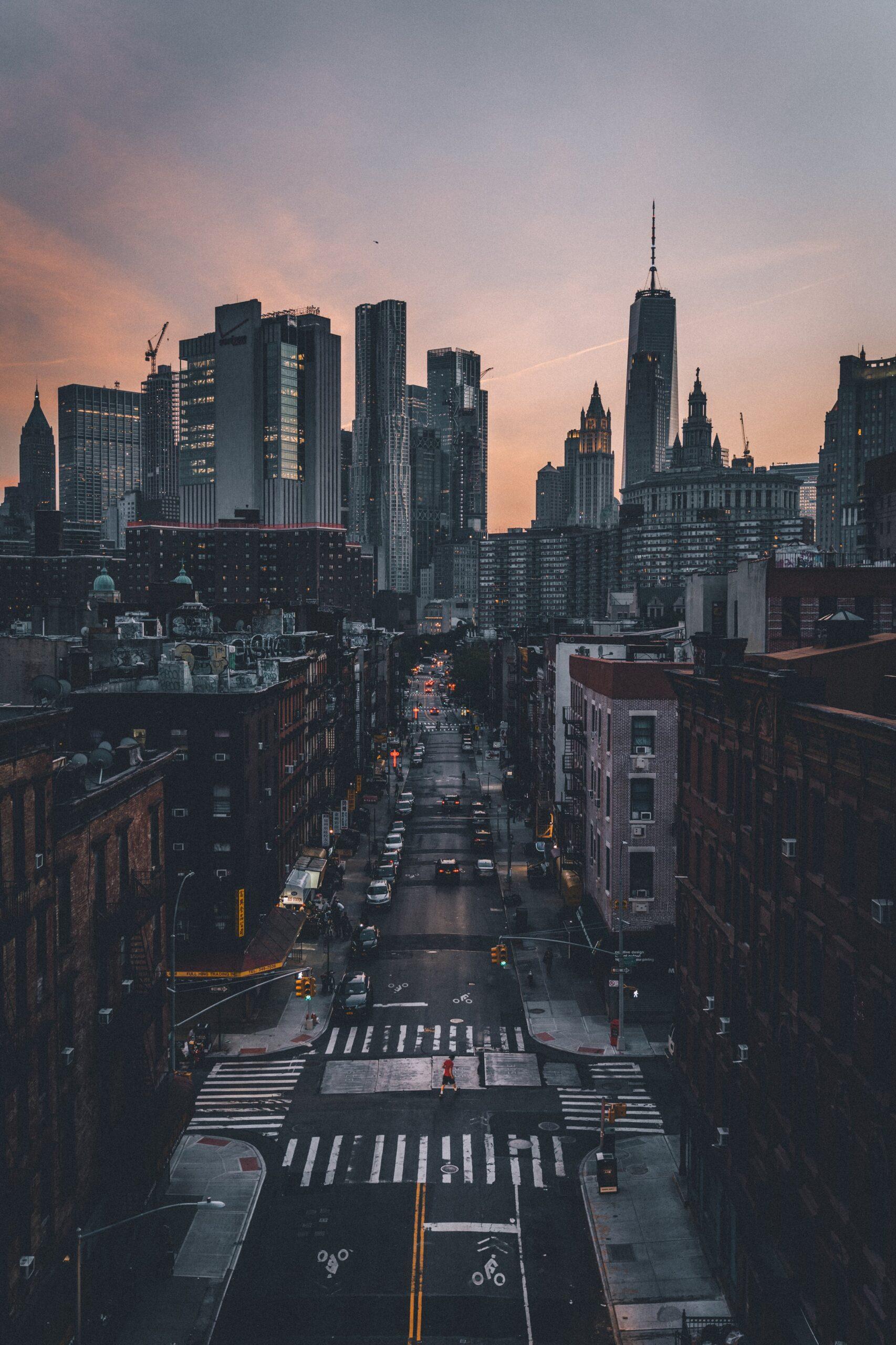 Quiet Dusky New York (Background)
