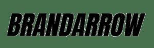 Brandarrow Text Logo Black